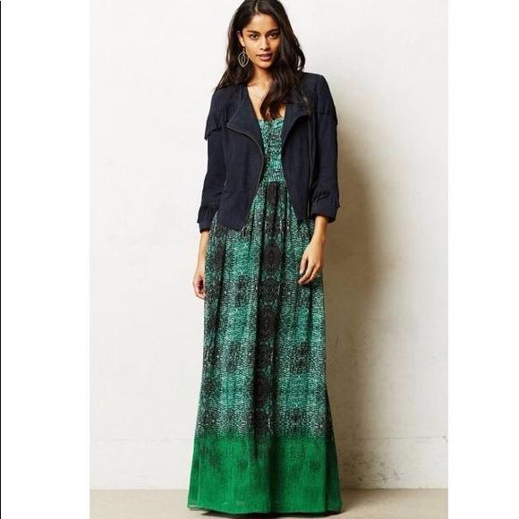 4ad8c7cdc6cb Anthropologie Dresses & Skirts - Moulinette Soeurs Vernalis Snake Print  Dress Sz 12